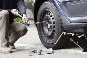 Как снять колёса с машины