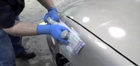 Подготовка автомобильного кузова перед шпатлёвкой