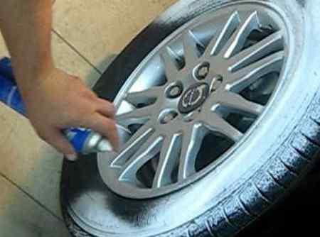Чем чернить резину на автомобиле в домашних условиях