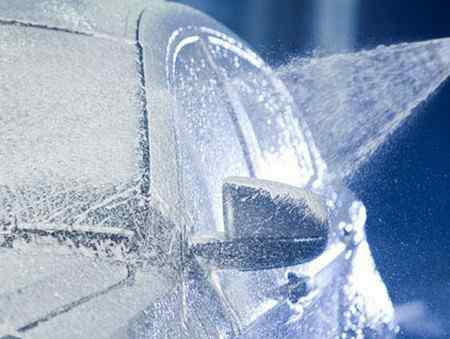 Правила зимней мойки автомобиля