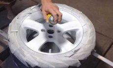 Покраска автомобильных дисков в домашних условиях